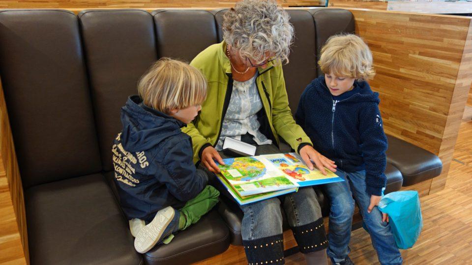 Vorlesen, Buch gemeinsam lesen